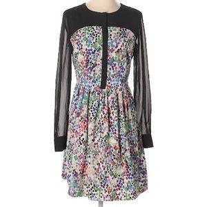 Multi Colored Day Dress